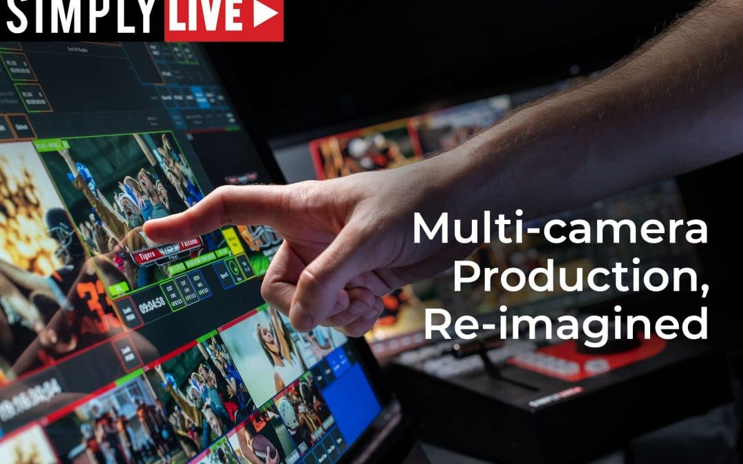 How to Simplify Your Live Production Workflow — On-Site, Remote, and in the Cloud [Webinar Recording]
