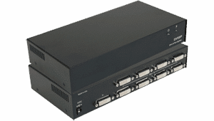 DVIVGASP-8P DVI-I, DVI-D and VGA Splitter and Distribution Amplifier with 1 Input and 8 outputs