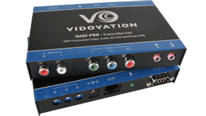 HADI-PRO-RXLS HD Video, RS-232, Stereo Audio and IR over CAT5 Long Range Receiver