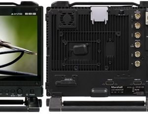"""OR-901-XDI Fully Featured 9"""" Rack Mountable Camera-Top LCD Field Monitor with HD-SDI / HDMI Cross Conversion & Anaglyph 3D"""