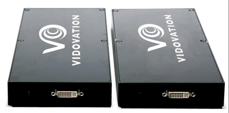 FOE-1100-DVI DVI Fiber Optic Extender Long Distance