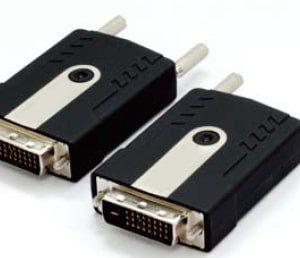 FOE-120-DVI Fiber Optic Extender 1 Channel Bi-directional