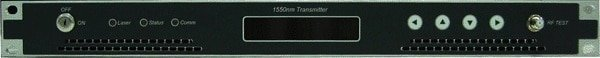 FCT-2500 VidOptic 1550nm DFB Fiber Optic CATV Cable TV RF Transmitter