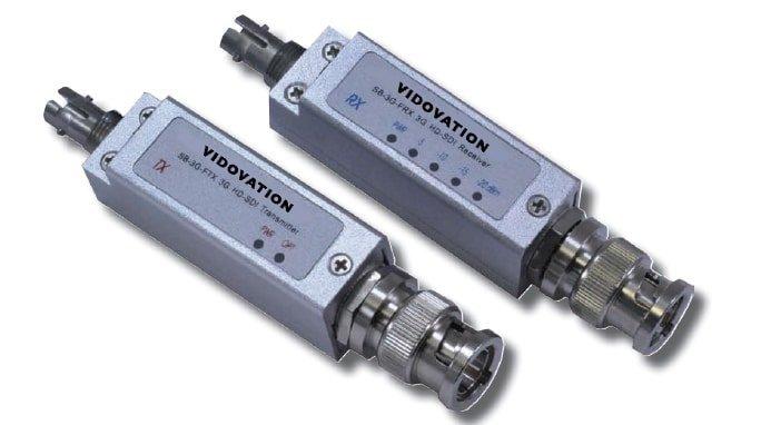 VidOptic Mini FVT/FVR-100-3G HD-SDI Fiber Optic Link
