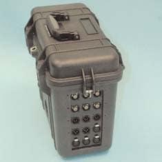 VidOptic Remote RFT-6000-MC VidOptic Remote Fiber Optic Transport Multi-Core Extender for JVC-HD2xx Series Cameras