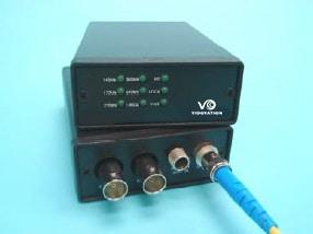 FVT/FVR-1000-SDI 1.5 Gbps HD-SDI Fiber Optic Link, Multirate, 5 - 1485 Mb/s, DVB/ASI, SMPTE 292M 259M 310M.