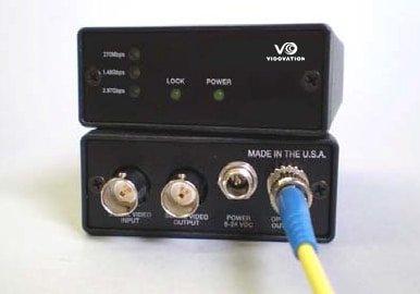 FVT/FVR-1000-3G 3 Gbps Multirate Serial Digital Video Fiber Optic Transmitter, 5 - 2970 Mb/s