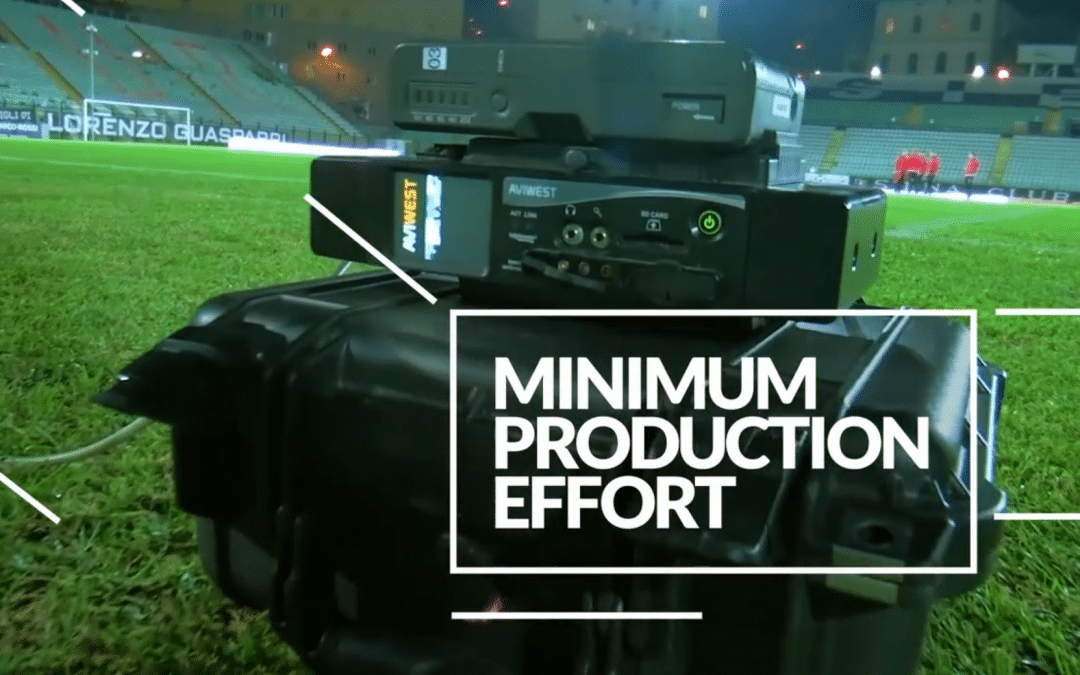 AVIWEST Dominating At-home Remote Production for Lega Pro League Soccer
