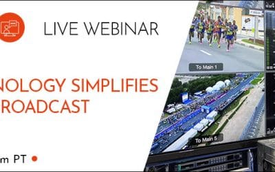 How 5G Technology Simplifies Live Remote Broadcast [Webinar Recording]