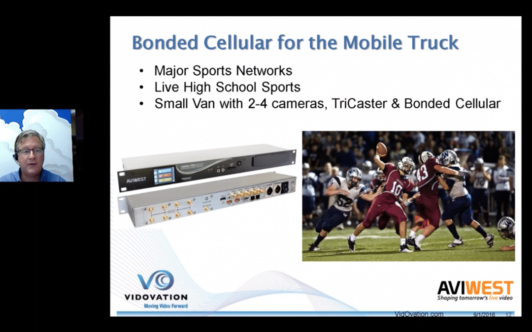 Bonded Cellular Webinar – Latest Technology Live Newsgathering & Contribution