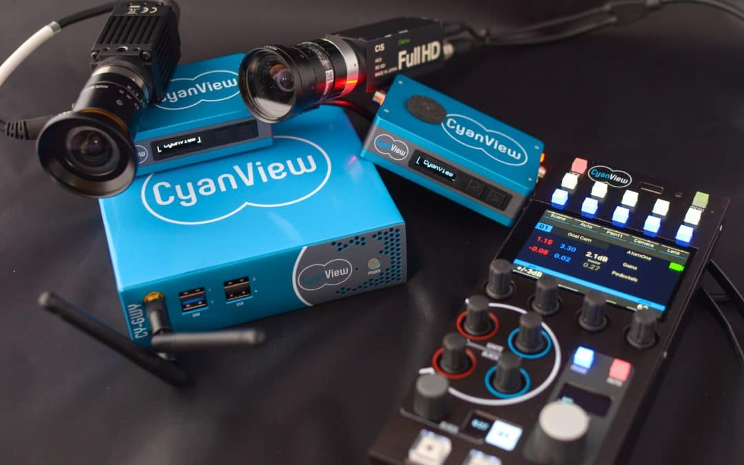 VidOvation and CyanView Partner to Simplify Remote Camera Control for Live Multicamera Productions