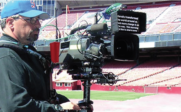 NEW! ABonAir's Teleprompter and Video Return system at IBC 2019